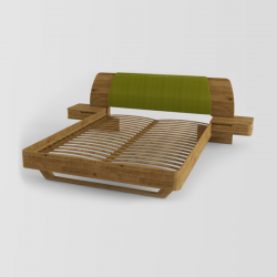 Ліжко Modesta (140х200) з...