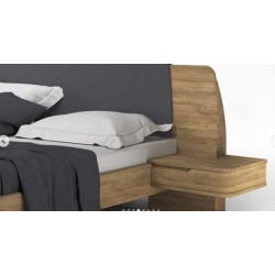 Ліжко Modesta (200x200) з...